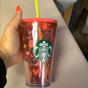 Starbucks Valentine's Day tumbler cold cup